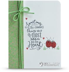 CARD: Layering Love Ladybugs Card | Stampin Up Demonstrator - Tami White - Stamp With Tami Crafting and Card-Making Stampin Up blog