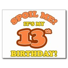 >>>Low Price Guarantee          	Silly 13th Birthday Present Post Cards           	Silly 13th Birthday Present Post Cards In our offer link above you will seeDeals          	Silly 13th Birthday Present Post Cards today easy to Shops & Purchase Online - transferred directly secure and trusted c...Cleck Hot Deals >>> http://www.zazzle.com/silly_13th_birthday_present_post_cards-239844852579502165?rf=238627982471231924&zbar=1&tc=terrest