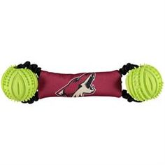sports shoes d638b de06c Arizona Coyotes Double Bungee Toss Pet Toy Arizona Coyotes, Pet Gear, Nhl,  Hockey