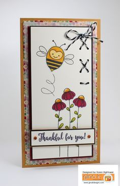 """This is made using the new Stamp Tv Kit """"Autumn Wishes"""". It is available at Gina…"""