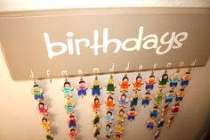 Never forget a birthday again! Make a DIY Hanging Birthday Calendar to remember all your special occasions. Diy Classroom Decorations, Classroom Setting, Classroom Design, Future Classroom, Classroom Ideas, Classroom Teacher, Elementary Teacher, Birthday Decorations, Kindergarten Blogs