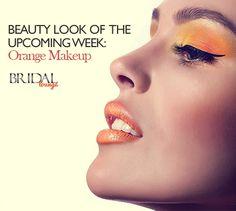 Beauty Look of the Upcoming Week – Orange makeup. #Trendy #MakeUp #LookBook #Fashion #Funky