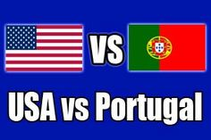 Watch USA vs Portugal Game Online