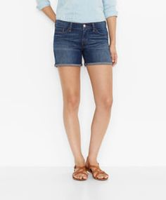 Mid Length Shorts - Arrowhead Blue - Levi's - levi.com
