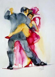 Bailan tango