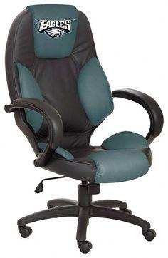 Philadelphia #Eagles leather office chair...