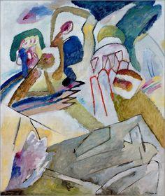 Improvisation 18,1911,by Wassily Kandinsky