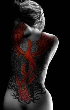 Red Phonix Tattoo