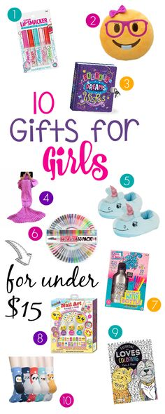 10 Gifts for Girls for Under $15 – Fun-Squared