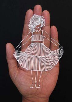 Une sélection des superbes créations de paper art de l'artiste indienParth Kothekar, qui découpe à la main des formes aussi complexes que poétiques dans                                                                                                                                                                                 Plus