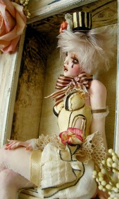 GYPSY ROSE - A Victorian shabby chic style Burlesque girl ooak by Nicole West   eBay