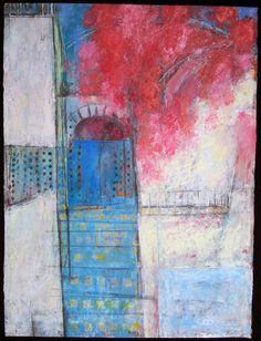 Fuchsia Wall. Susan Gottlieb