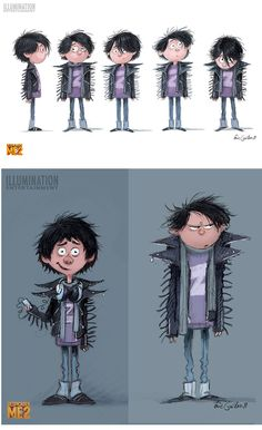 DespicableMe2-EricGuilon-1 ★ || CHARACTER DESIGN REFERENCES (pinterest.com/characterdesigh) • Do you love Character Design? Join the Character Design Challenge! (link→ www.facebook.com/groups/CharacterDesignChallenge) Share your unique vision of a theme every month, promote your art, learn and make new friends in a community of over 12.000 artists who share the same passion! || ★