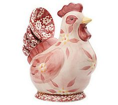 For: me Color: Cream! Temp-tations Old World Figural Chicken 5-pc. Measuring Set