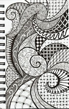 Zentangle Inspiration by pat