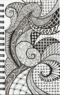 Zentangle Inspiration by pat