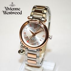 Vivienne Westwood (ヴィヴィアンウエストウッド) 腕時計 VV006RSSL ORB シルバー/ピンクゴールド 時計 レディース ヴィヴィアン タイムマシン 【送料無料(※北海道・沖縄は1,000円)】【楽ギフ_包装選択】【楽天市場】
