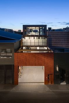 What was once an old warehouse has been transformed into a contemporary, light-filled home by LSA Architects.