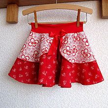 Detské oblečenie - Sukýnka kolová lidová vel.98 - 7566960_