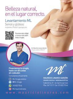 El cuerpo también se renueva combatiendo los efectos de la gravedad en senos y gluteos  http://www.mauriciolinares.com/cirugia-de-senos/