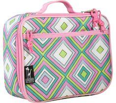 Wildkin - Lunch Box - Pink Retro $25.45