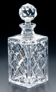 Full Question My priest uses a crystal decanter for celebrating Mass. Is this allowed? However, decanters or Crystal Glassware, Waterford Crystal, Cut Glass, Glass Art, Crystal Illustration, Carafe, Whiskey Decanter, Crystal Collection, Carnival Glass