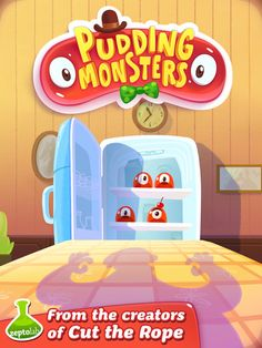 Pudding Monsters: Your Next iPad Game Download | Today's iPad Game