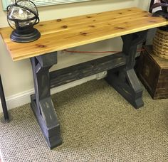 Beautiful and unique Console table. A great piece to add to any space in your hope with a unique style.