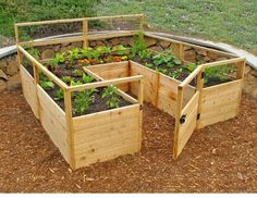 here are 30 cool ideas for raised garden beds from the practical to the extraordinary 30 raised garden bed ideas via