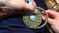 Pine needle coiling Fagot stitch by Carol Busto