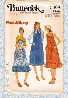Simplicity 8083 Misses Sew Simple Pullover Dress Sewing Pattern Sz XS-XL 6-24