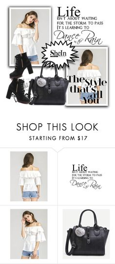 """""""Shein 3."""" by adelisamujkic ❤ liked on Polyvore featuring Walls Need Love"""