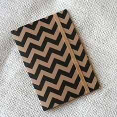 Jotter - Chevron Stripe by witandwhistle (etsy)