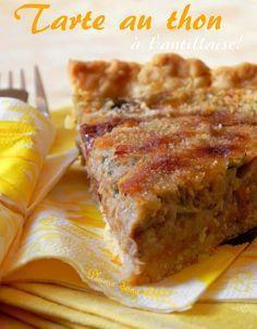 Tarte au thon antillaise | Blog cuisine avec mes recettes antillaises faciles, et des recettes indiennes et exotiques.