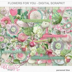 Personal Use :: Kits :: Flowers for you - Full Kit #alliwant