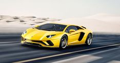 Lamborghini's New Aventador S Adds Extra 'Sport' to Its Flagship Supercar