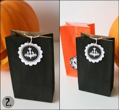 More Halloween Party Favor/Treat Bag printables!