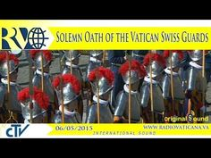 Solemn Oath of the Vatican Swiss Guards - Youtube English, Swiss Guard, City Museum, Vatican City, Catholic, Blessed, Peace, Museums, Blessings