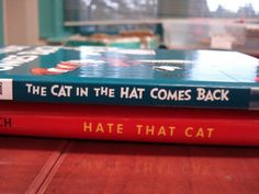 The cat in the hat comes back...hate that cat