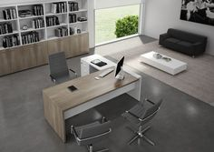 Modern Office Desks - Glass Desks, Executive Office Furniture