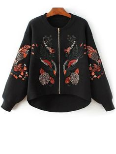 SHARE & Get it FREE | Embroidered Zipped CardiganFor Fashion Lovers only:80,000+ Items • New Arrivals Daily Join Zaful: Get YOUR $50 NOW!