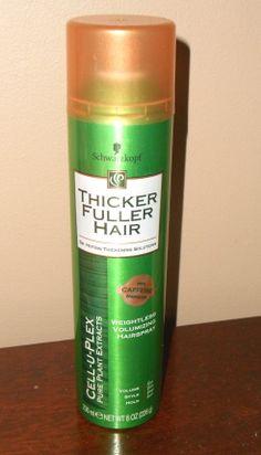 Schwarzkopf Weightless Volumizing Hairspray http://twoclassychics.com/2015/01/schwarzkopf-weightless-volumizing-hairspray/