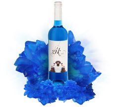 World's first blue wine goes on sale