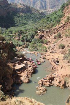 Ouzoud Waterfalls, Morocco.