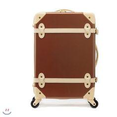 "EDDAS ETHOS Vintage Style Brown 20"" Carry-on Travel Luggage Carrier   Travel, Luggage   eBay!"