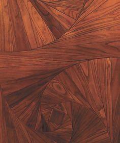 intricate wood flooring pattern more