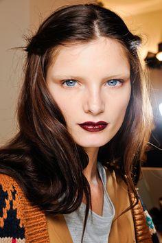 #Gucci Dark Lips ...    © GoRunway.com
