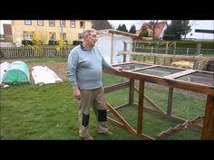 Bau unseres Hühnertraktors, Teil 2 - YouTube