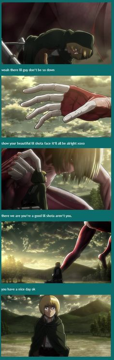 Armin and the Female Titan