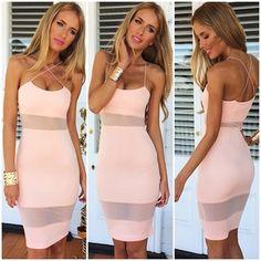 Slim Sexy Vest Dress Vg04
